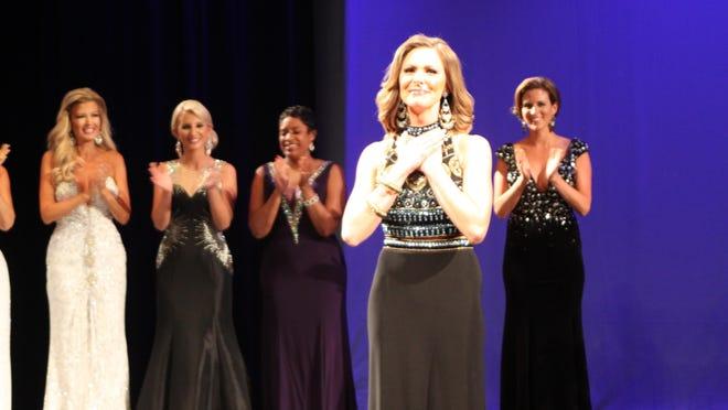 Former Mrs. Studio City International Tiffany Calig was crowned Mrs. California International 2016 on Saturday.
