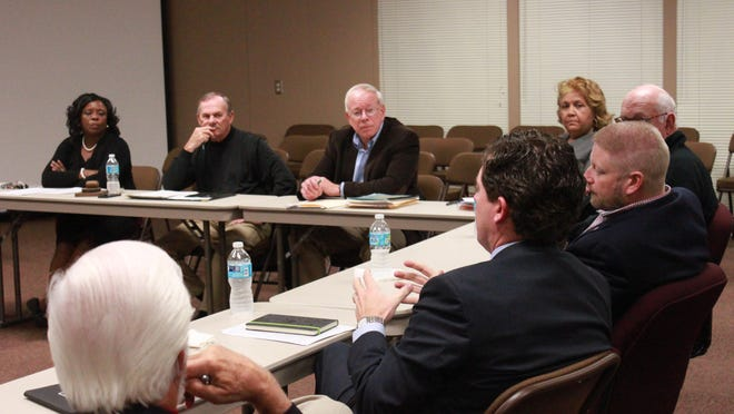 The Education Vision Committee, comprised of members of the Jackson-Madison County School Board and the Madison County Commission, meets Tuesday.