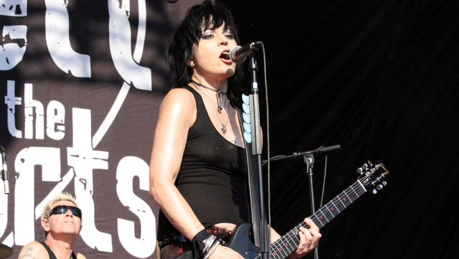 """Joan Jett is part of the """"Three For All Tour"""" coming to the DTE Energy Music Theatre on July 14."""