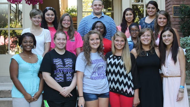A gathering was held Tuesday at College Hill for the 19 rising college freshmen awarded with the Haywood County and City of Brownsville Scholarship.
