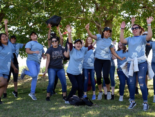 04/22/2017: New Mexico State University students participate