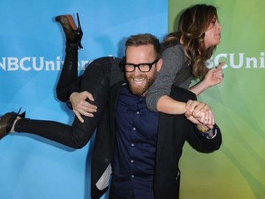 Celebrity trainers Bob Harper and Jillian Michaels both have used the deck of cards workouts to burn calories and shed fat. Photo by Richard Shotwell/Invision/AP.