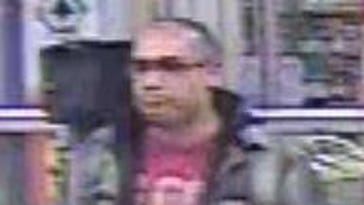 Suspect sought in use of stolen credit card