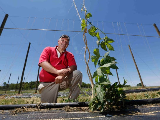 Ohio State University Extension horticulturist Brad