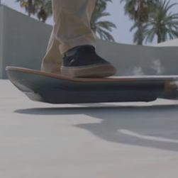 Lexus showed off a hoverboard prototype in a commercial.