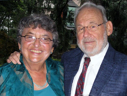 Judith Ann Hiller Goldberg and her husband, Al Goldberg,