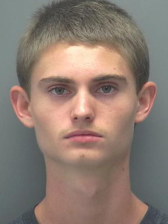 Victor Johansson mugshot Mariner High School stabbing suspect