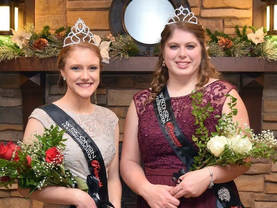 The 2018 Wisconsin Holstein Princess and Attendant were also crowned at the Wisconsin Junior Holstein Association banquet on Saturday evening. This year, Allison Breunig (left) of Dane County will serve as the WHA Princess, and Brooke Trustem of Rock County will join her as the WHA Princess Attendant.