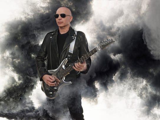 Joe Satriani begins touring his newest studio album,