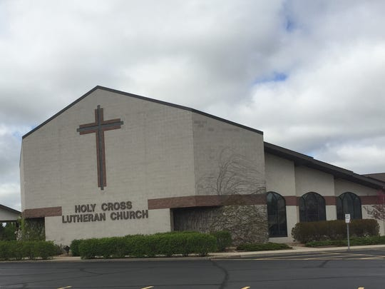 Holy Cross Lutheran Church as it appears today in its present location at 2555 Clearwater Road in St. Cloud. The church, which moved to its current site in 1996, will celebrate its 125th anniversary Sunday.