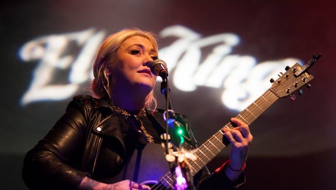 Elle King seen here performing at McMenamins Crystal Ballroom in Portland, OR. on Thursday, Dec. 3 2015 will perform at The Dinah in Palm Springs.