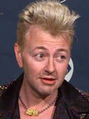 Brian Setzer, shown in 1998.