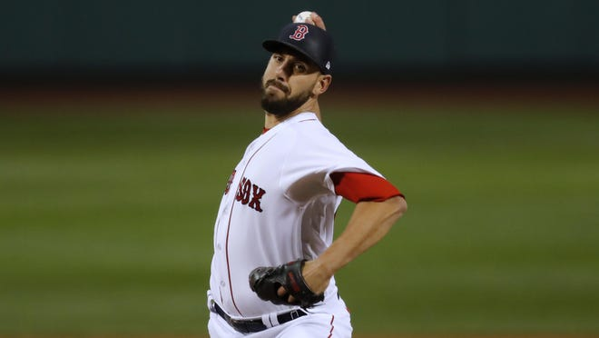 Matt Barnes could be the Red Sox closer in 2021.