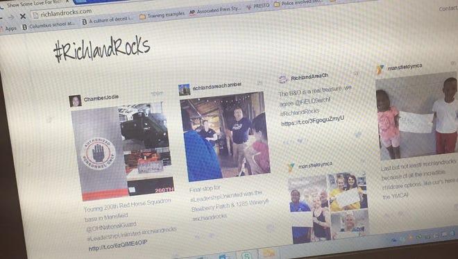 All social media posts tagged #RichlandRocks will be displayed at RichlandRocks.com.