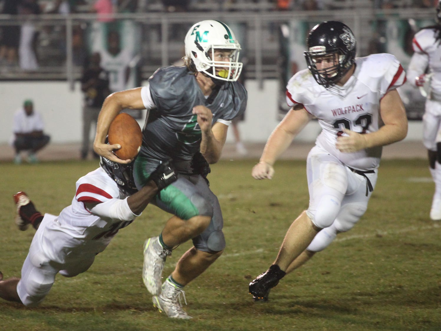 South Fort Myers competes with Fort Myers during a game on Friday night.