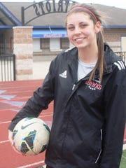 Franklin senior soccer player Bella Yardley has reason