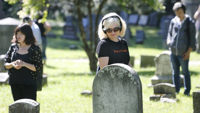 The Remote Rochester headphones tour includes a stop at Mt. Hope Cemetery.