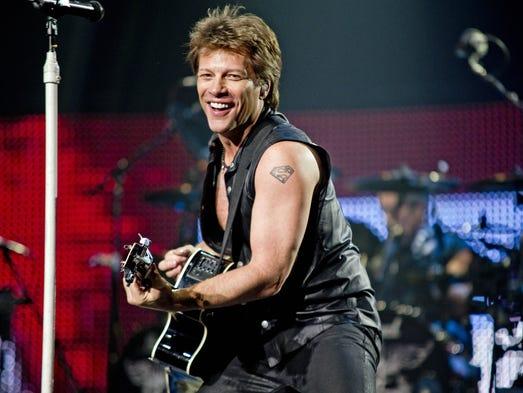 May 19, 2011 - Bon Jovi front man Jon Bon Jovi performs