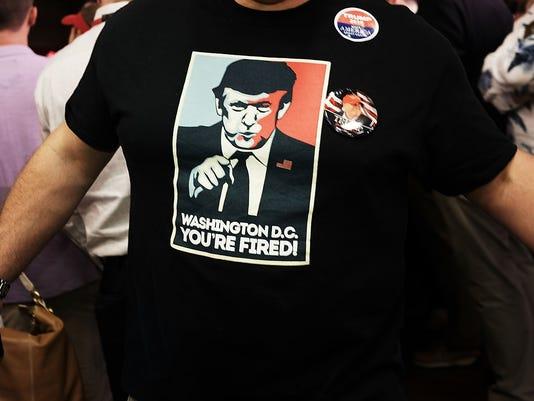 Donald Trump Attends Fundraising Rally For NJ Gov. Chris Christie