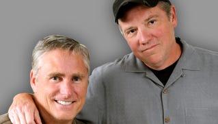 Tracy Jones (left) and Eddie Fingers of WLW's 'Eddie & Tracy Show'