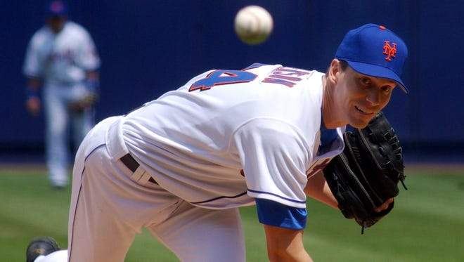 Kris Benson delivers a pitch for the New York Mets in 2005.