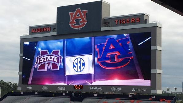 Auburn will look to rebound from last week's loss at LSU today against Mississippi State.
