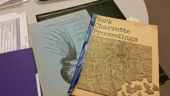 The York Charrette, a multi-day event in 1970 designed to help York, Pa., heal, spawned several groups that have become community institutions. Family First Health is one of those
