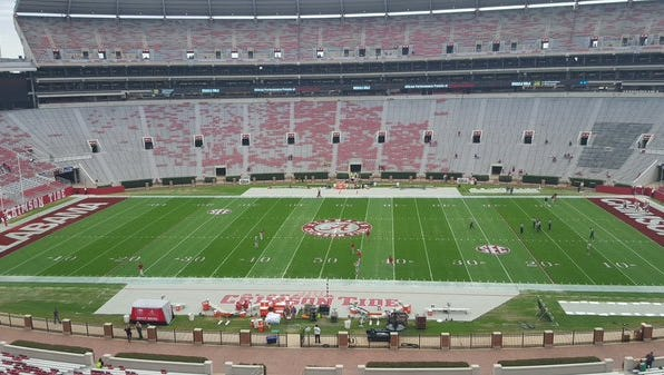 Alabama will play its final home game of the 2015 season Saturday against FCS school Charleston Suothern