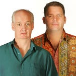 Colin Mochrie and Brad Sherwood are returning to the Count Basie Theatre in Red Bank.