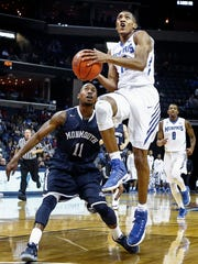 University of Memphis guard Craig Randall II has had