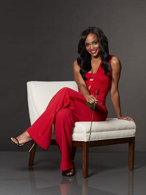Rachel Lindsay in ABC's 'The Bachelorette.' which returned with its lowest ratings yet for an opener.