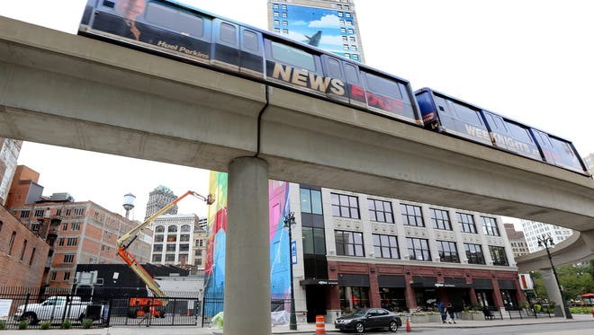 The Detroit People Mover Grand Circus Park Station is set to close for renovation work beginning Monday.