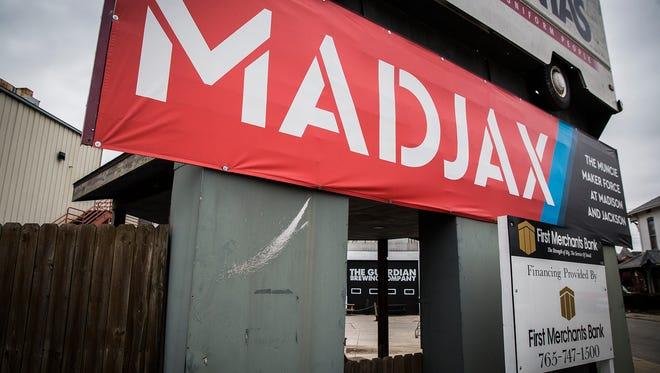 Madjax in downtown Muncie.