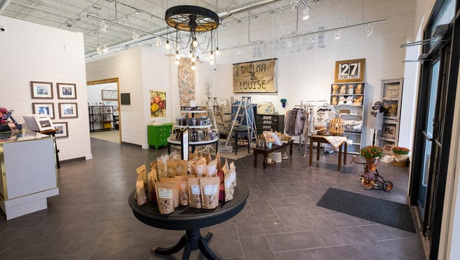 MC Marketplace in Marine City offers space for local artisan vendors to sell their products.