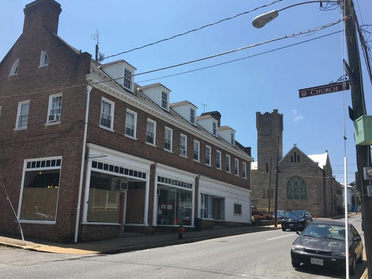 300 W. Beverley St. in downtown Staunton. A new Charlottesville-based