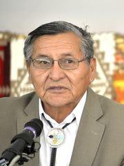 Navajo Nation president Ben Shelly sent condolences