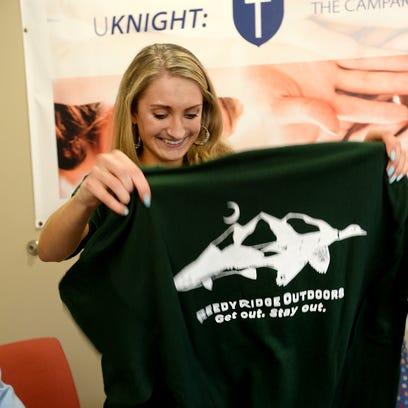 St. Joseph's Catholic School student Kathleen Browne