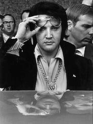 Elvis Presley, 1971.