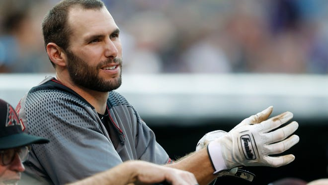 D-Backs manager Torey Lovullo said playing at Denver's altitude played a role in his decision to sit three stars -- Paul Goldschmidt (pictured), J.D. Martinez and A.J. Pollock.