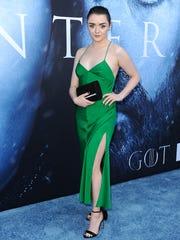 Maisie Williams, who plays Arya Stark on HBO's 'Game