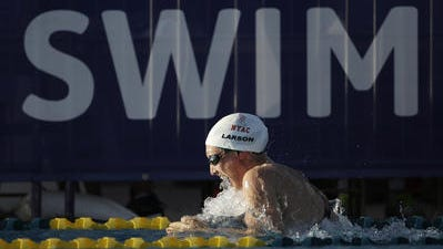 Breeja Larson of Mesa is among London Olympians with Arizona ties returning to the U.S. Olympic Swimming Trials in Omaha, Neb.