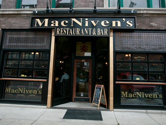 MacNiven's Restaurant and Bar on Mass Ave has been a soccer hotspot for years.