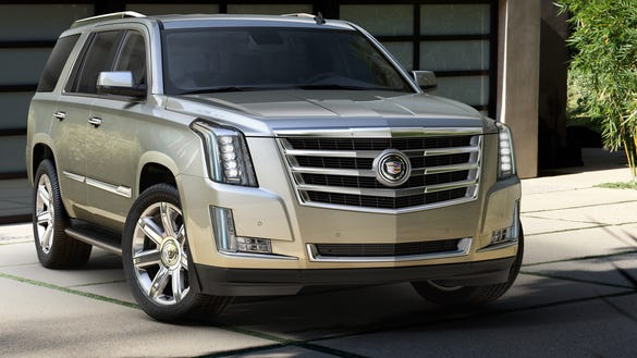 cadillac truck 2015 price. overhauled cadillac escalde a big truckbased suv goes on sale first half next year as 2015 model boasting more power room features truck price e