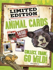 Animals of America cards will be available at Winn-Dixie until May 3.