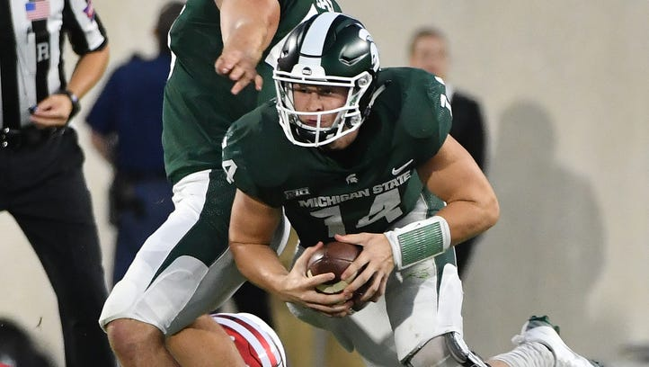 Lewerke struggles but has finishing touch for MSU
