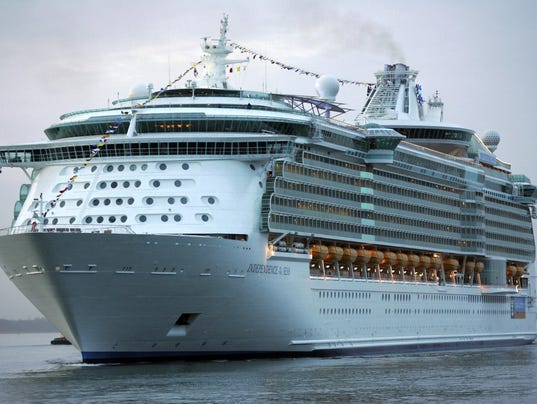Hundreds take ill on Royal Caribbean cruise line