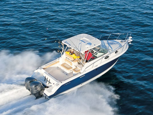 New jersey boat sale and expo cruises into edison for Fishing boats for sale nj