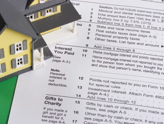 Taking A Dedution For Property Tax