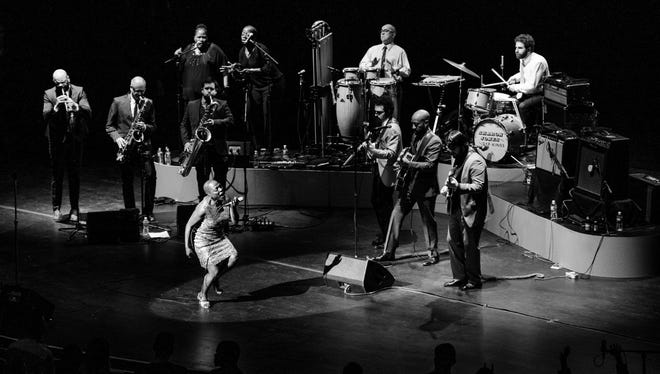 "R&B powerhouse Sharon Jones is (of course) the star of ""Miss Sharon Jones!,"" an acclaimed music-and-more documentary that makes its Memphis debut at 7 p.m. Wednesday at the Brooks Museum of Art. (Photo by Jacob Blickenstaff)"