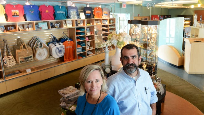 Kellson and Chris Savvides operate Virginia Originals & Chesapeake Grill, the restaurant and gift shop located on the southern most island of the Chesapeake Bay Bridge-Tunnel facility. The restaurant and an adjacent fishing pier will close in a little more than a year to make way for the construction of a new tunnel tube at the site. The fishing pier will reopen after construction, the restaurant will not.